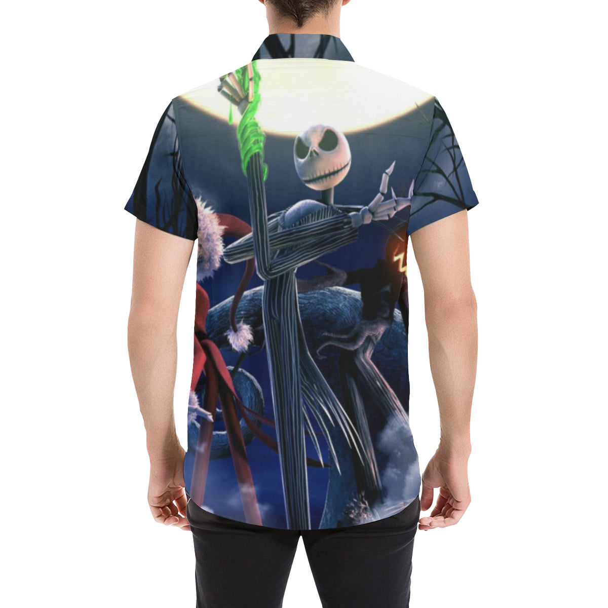The Nightmare Before Christmas #1 - Men\'s Short Sleeve Shirt - MyStorify