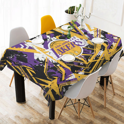Los Angeles Lakers   Tablecloth MyStorify
