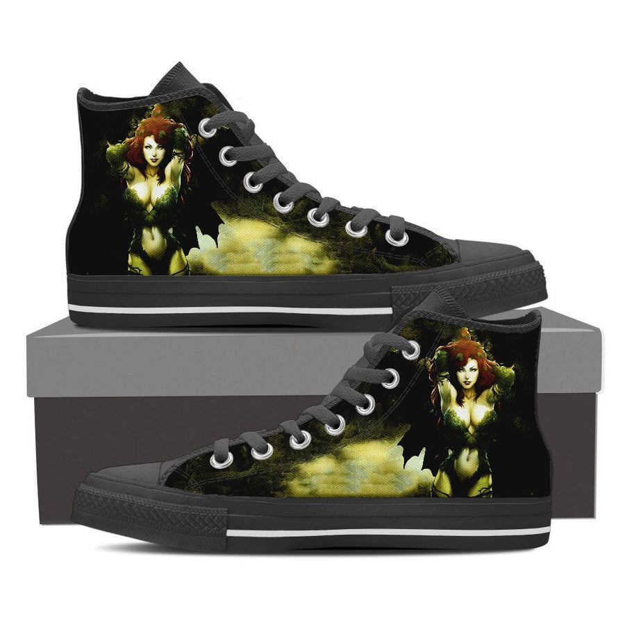 Poison Ivy #1 - Canvas Printed Shoes