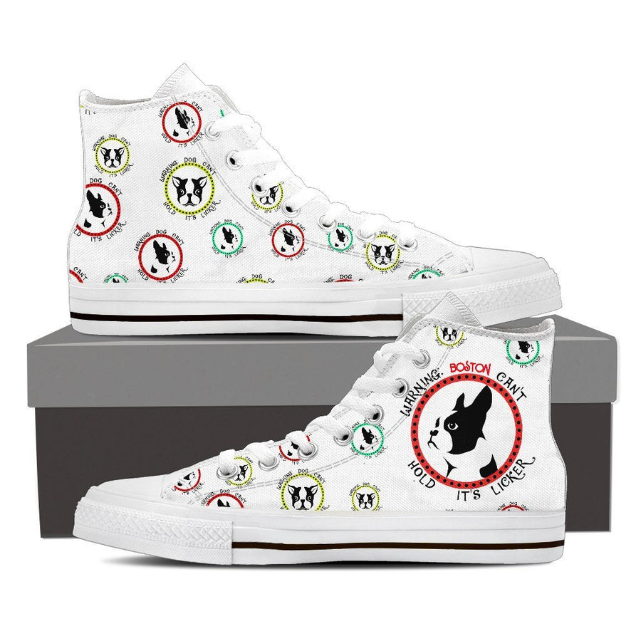 Custom Printed Shoes - Boston Terrier Dog #1 - TheSevenShop