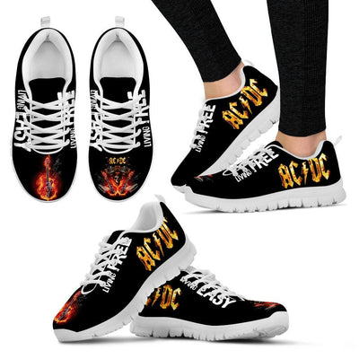 Custom Printed Shoes - AC/DC - TheSevenShop