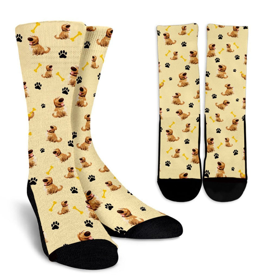 Crew Socks - Golden Retriever Dog (3 Styles) - TheSevenShop