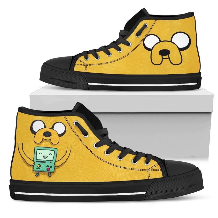 Adventure Time #2 - Canvas Printed Shoes - MyStorify