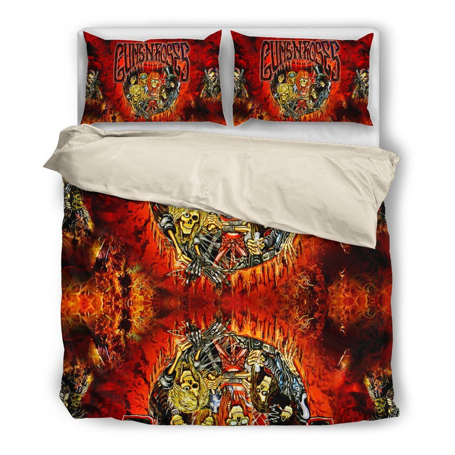 Gun N' Roses - Bedding Set (Duvet Cover & Pillowcases)