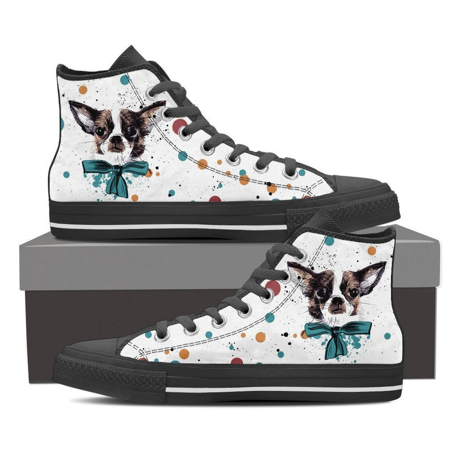 Custom Printed Shoes - Chihuahua Dog #2 - TheSevenShop