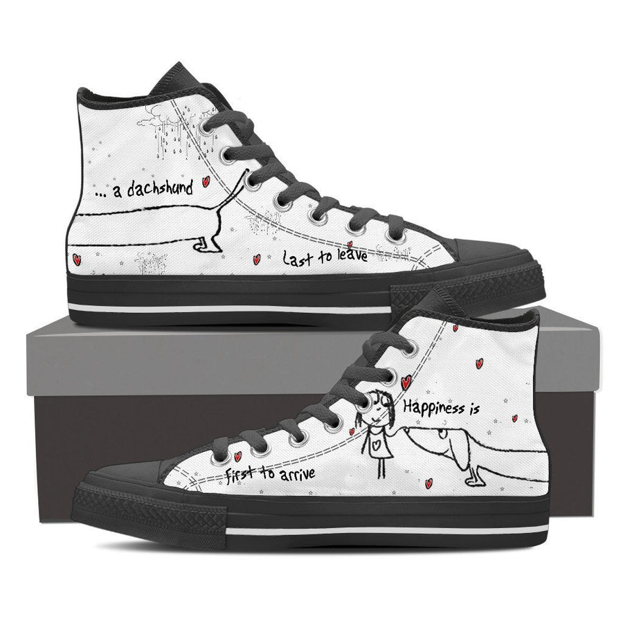 Custom Printed Shoes - Dachshund Dog #4 - TheSevenShop