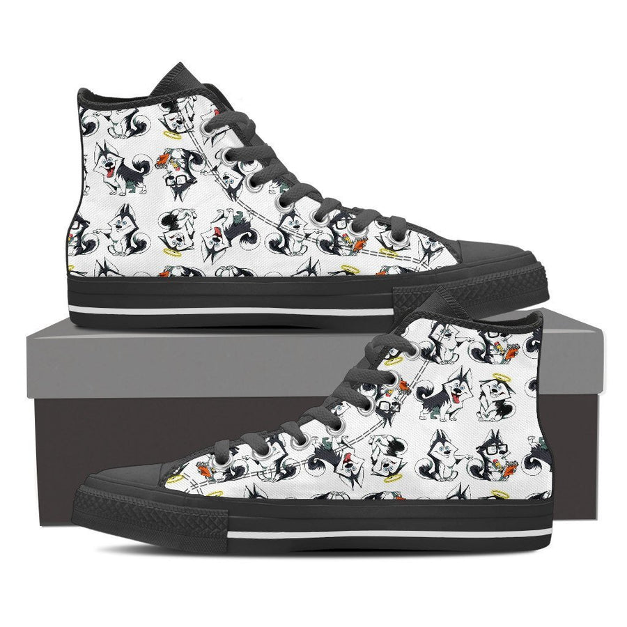 Custom Printed Shoes - Husky Dog #1 - TheSevenShop