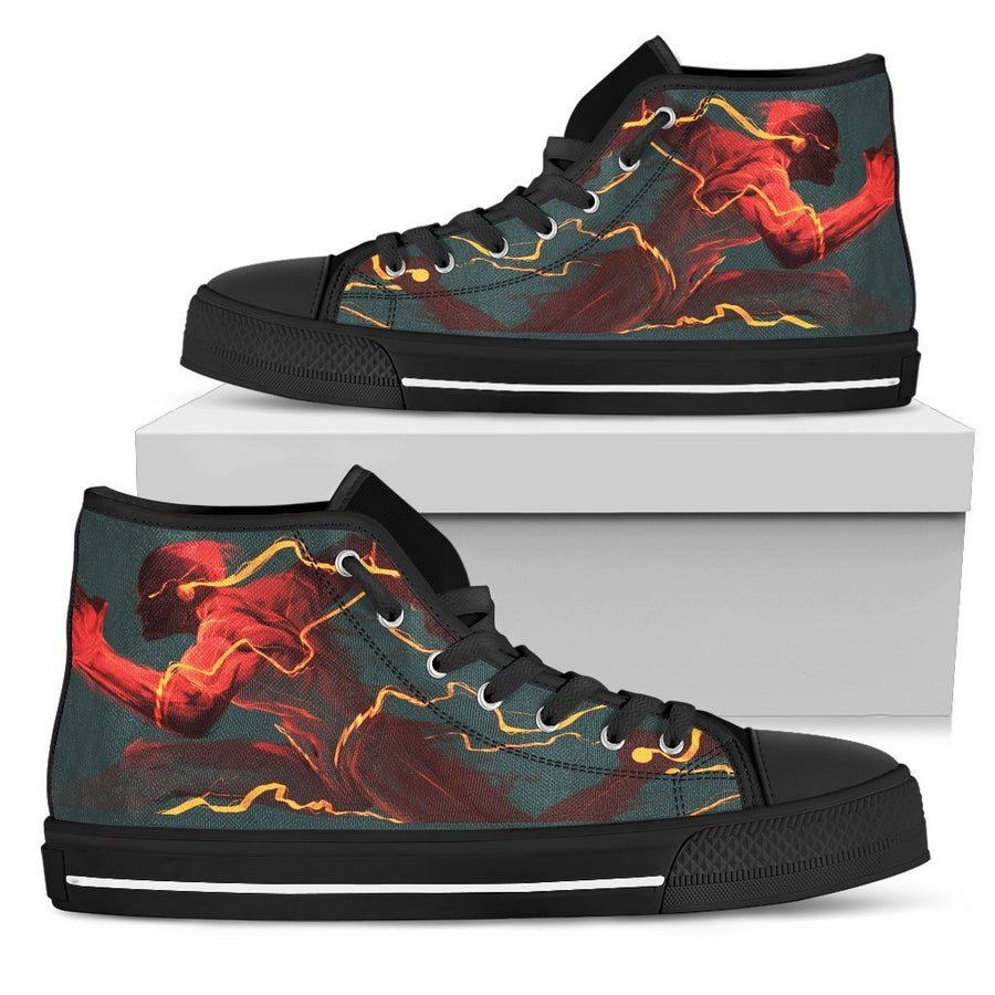 The Flash - Canvas Printed Shoes