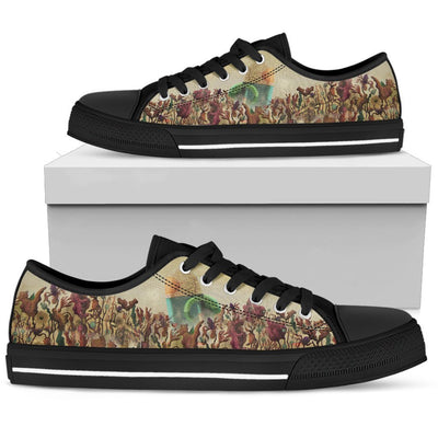 Adventure Time #1 - Canvas Printed Shoes - MyStorify