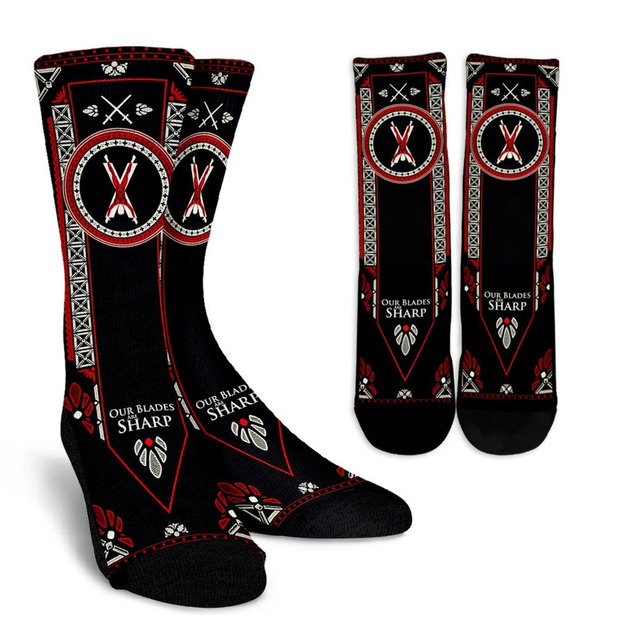Game of Thrones - House Bolton (2 Styles) - Crew Socks-MyStorify