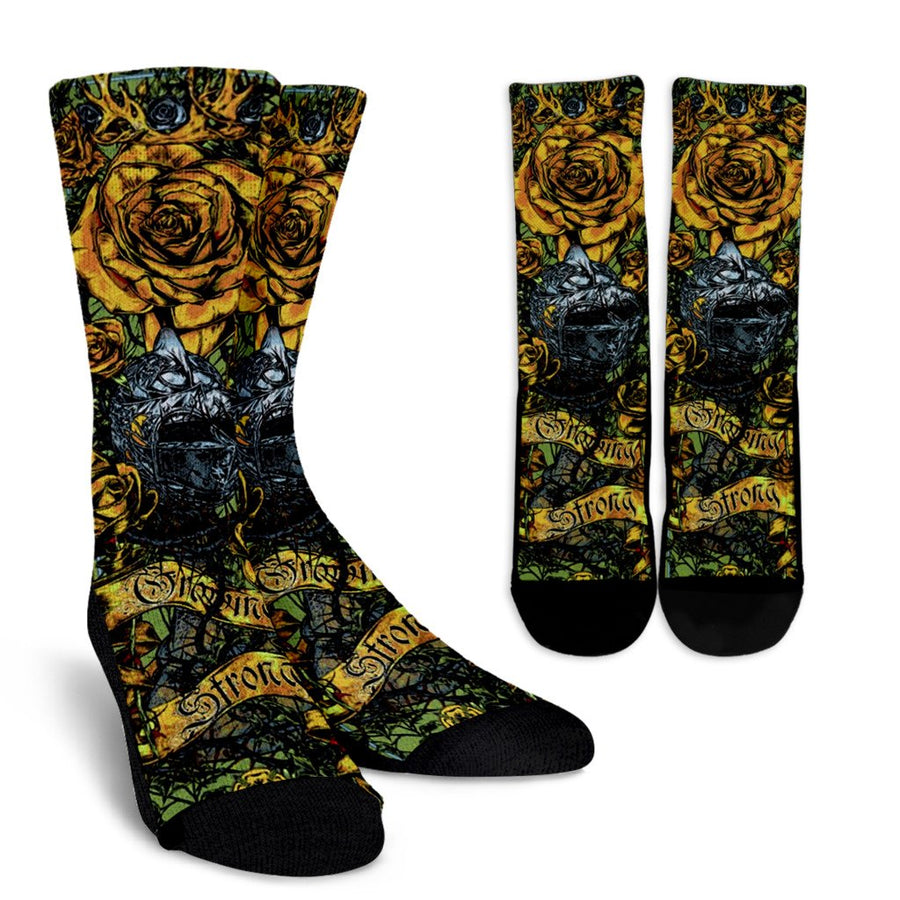Game of Thrones - House Tyrell (3 Styles) - Crew Socks-MyStorify