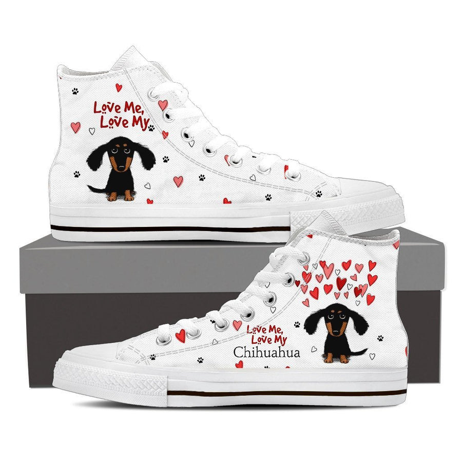 Custom Printed Shoes - Chihuahua Dog #1 - TheSevenShop