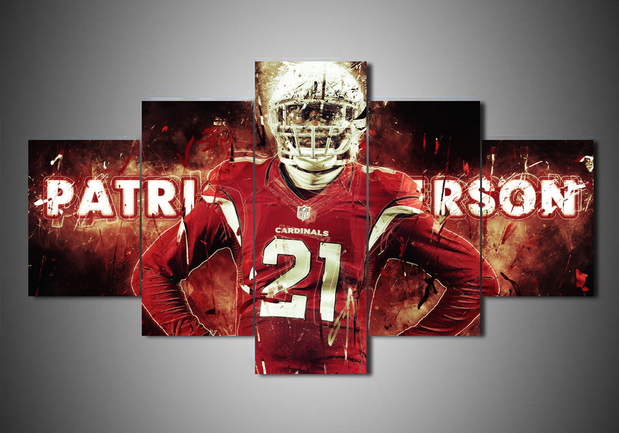 Arizona Cardinals - Patrick Peterson (2 Styles) - 5-Piece Canvas Wall Art - MyStorify