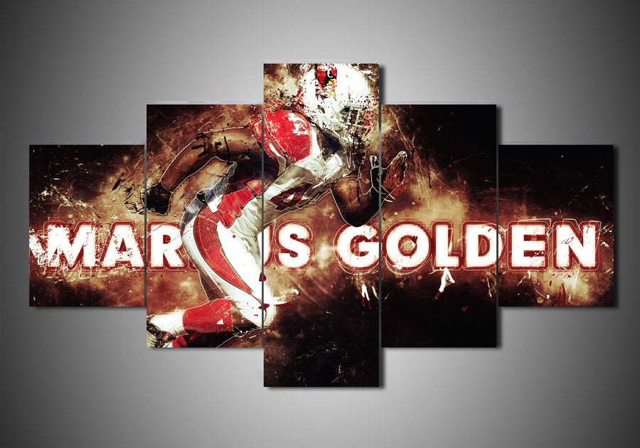 Arizona Cardinals - Markus Golden (2 Styles) - 5-Piece Canvas Wall Art - MyStorify