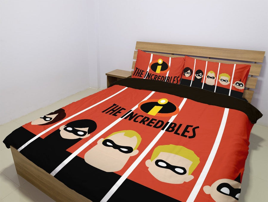 The Incredibles - Bedding Set (Duvet Cover & Pillowcases)