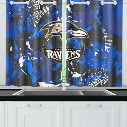 Baltimore Ravens - Kitchen Curtain