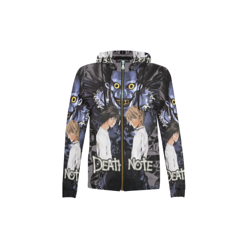 Death Note - Kids Zip Up Hoodie, Pull Over Hoodie, T shirt-MyStorify