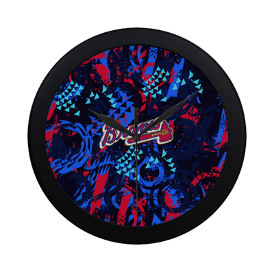Atlanta Braves - Wall Clock-MyStorify