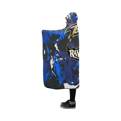 Baltimore Ravens - Hooded Blanket