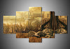 Deadwood (2 Styles) - 5-Piece Canvas Wall Art-MyStorify