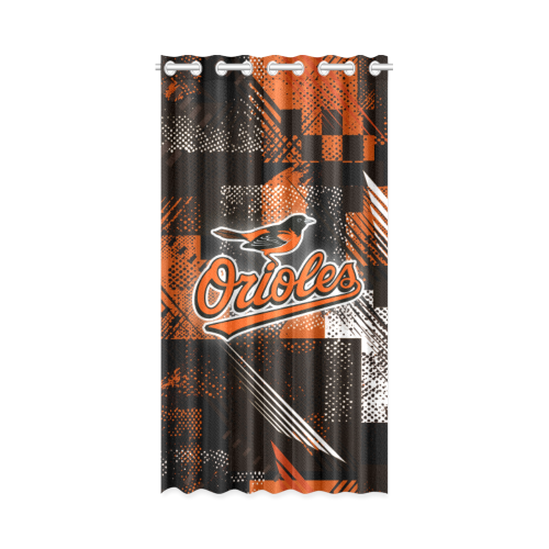 Baltimore Orioles - Window Curtain