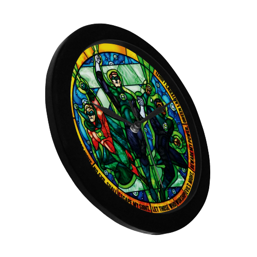 Green Lantern - Wall Clock