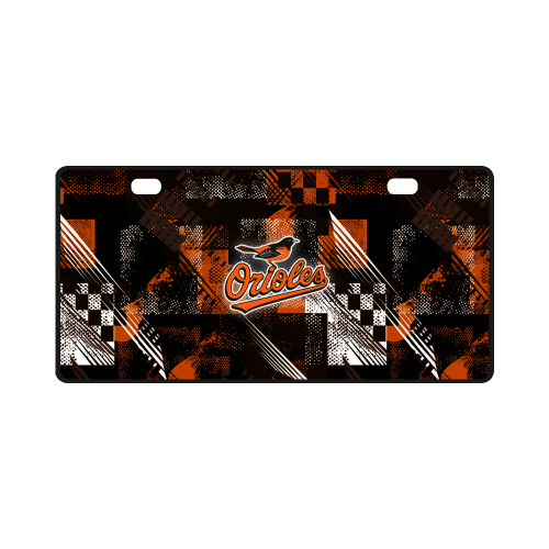 Baltimore Orioles - License Plate