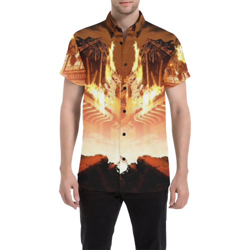 Attack on Titan #1 - Men's Short Sleeve Shirt