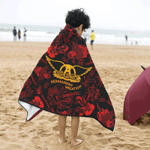 Aerosmith - Kids Hooded Bath Towels