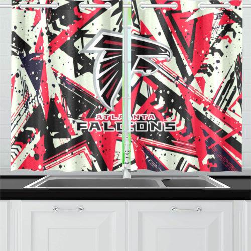 Atlanta Falcons - Kitchen Curtain