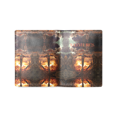 Black Veil Brides #2 - Men's Leather Wallet
