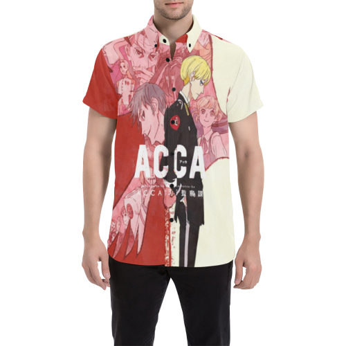 ACCA: 13-Territory Inspection Dept. - Men's Short Sleeve Shirt