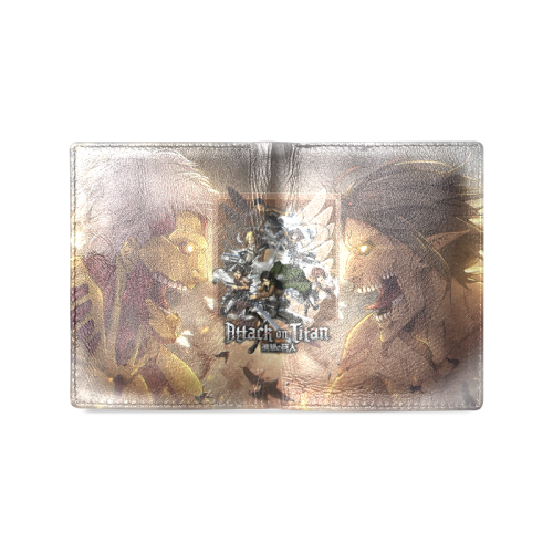Attack On Titan #2 - Men's Leather Wallet