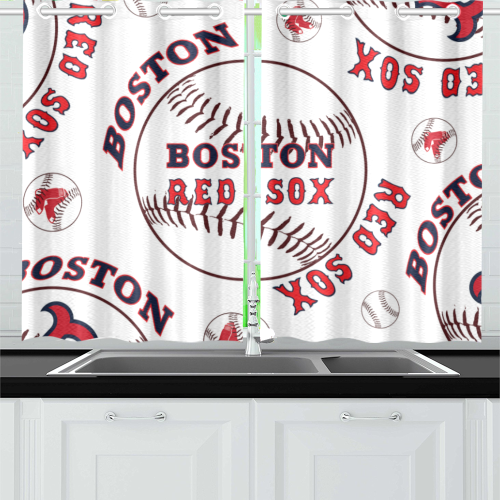 Boston Red Sox - Kitchen Curtain