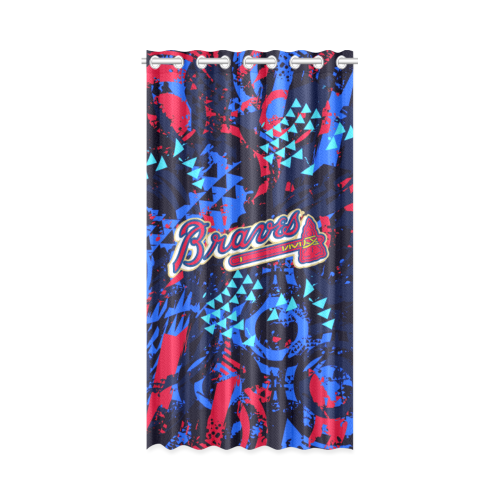 Atlanta Braves - Window Curtain