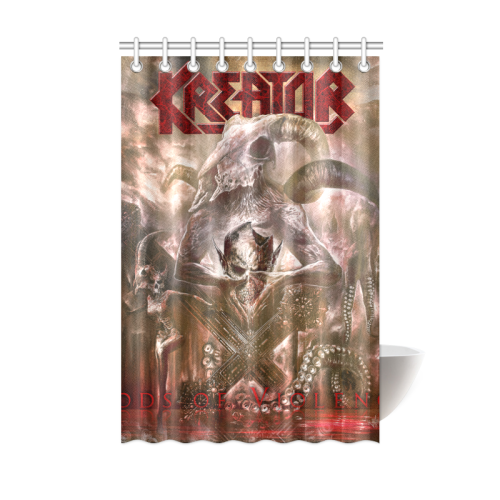 Kreator #1 - Shower Curtain-MyStorify