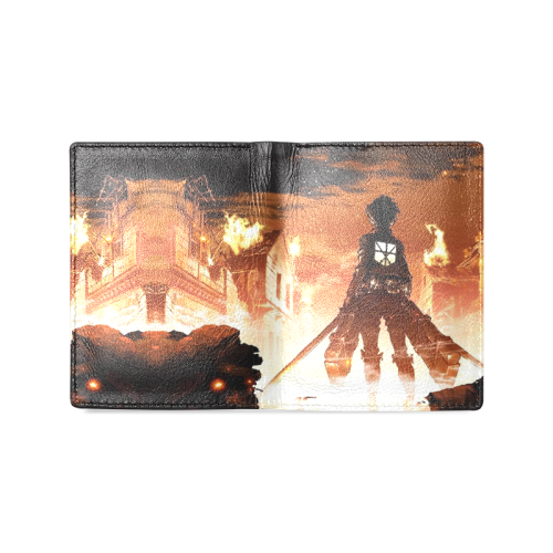 Attack On Titan #1 - Men's Leather Wallet