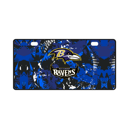 Baltimore Ravens - License Plate