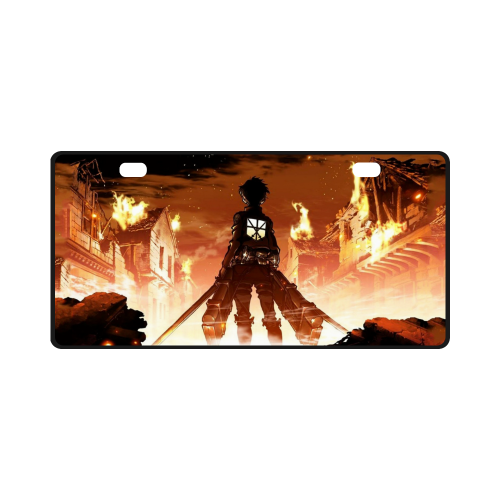 Attack On Titan #1 - License Plate