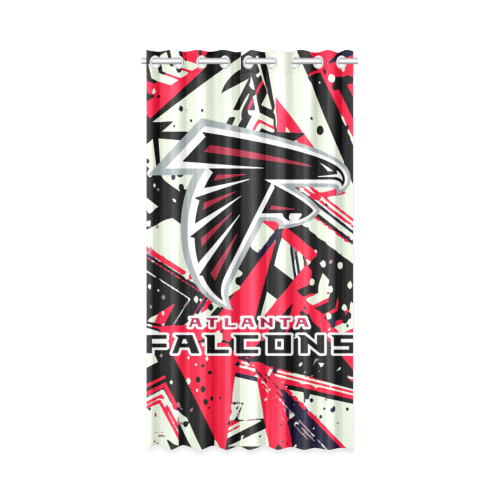 Atlanta Falcons - Window Curtain