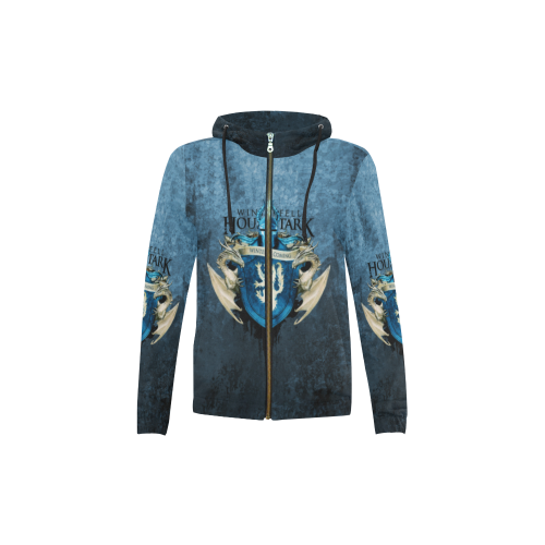 Game of Thrones - Stark House - Kids Hoodie, T shirt-MyStorify