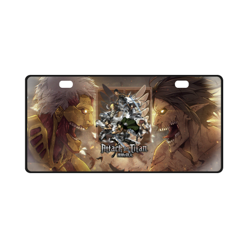 Attack On Titan #2 - License Plate