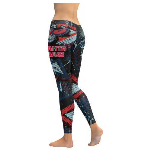 Atlanta Hawks #1 - Low Rise Leggings