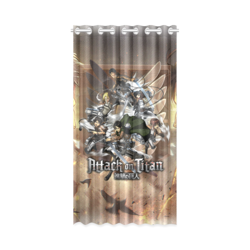 Attack On Titan #2 - Window Curtain