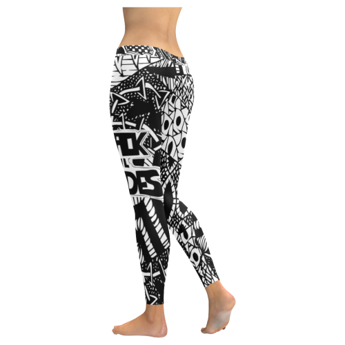 Black Veil Brides #1 - Low Rise Leggings