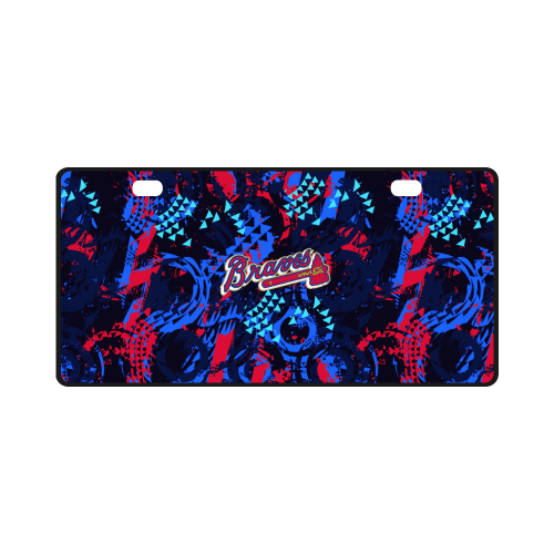 Atlanta Braves - License Plate