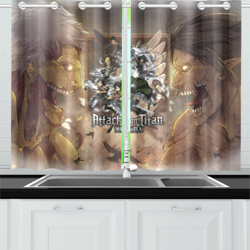Attack On Titan #2 - Kitchen Curtain