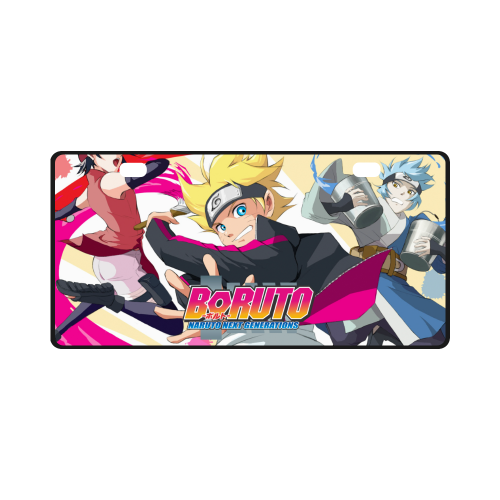 Boruto #3 - License Plate