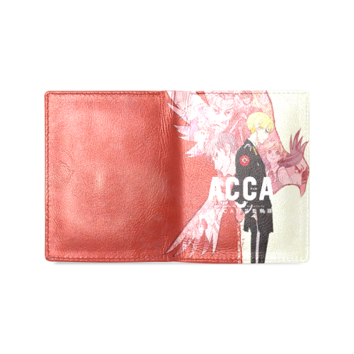 ACCA: 13-Territory Inspection Dept. - Men's Leather Wallet