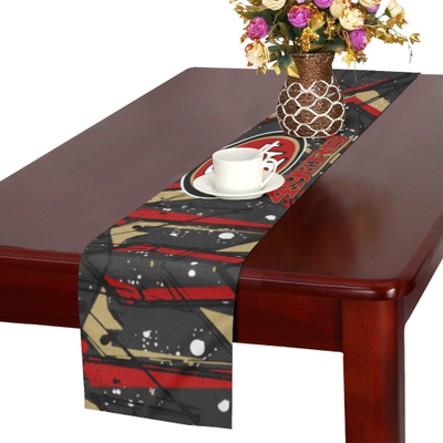 NFL   San Francisco 49ers Table Runner 14x72 Inch MyStorify